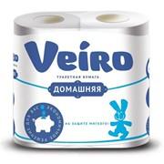 Бумага туалетная Veiro Домашняя в ассортименте фото