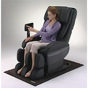 Массажное кресло Equilibrium из натуральной кожи фото