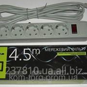 Сетевой фильтр LogicPower LP-X5 4,5м фото