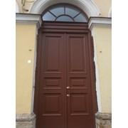 Уличная Входная дверь,массив сосны,ГИОП, историч фото