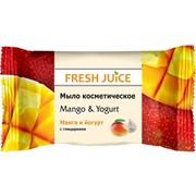 Мыло косметическое Fresh Juice Mango & Yogurt 75 г фото