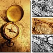Модульная картина Карты_2 , Неизвестен фото