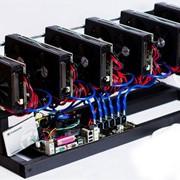 Майнинг ферма GPU на видеокартах ITP AMD 8xRX470 8Gb фото