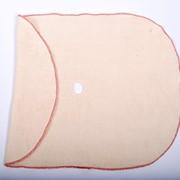 Салфетки для мытья пола 50*70, 3-х слойная, НЕТКОЛ с отверстием для швабры, обработка оверлок. фото
