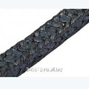 Набивка плетеная из трг, армированного хлопчато- бумажной нитью, с угловой оплеткой из экспандированного фторо фото
