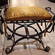 Художественная ковка мебели фото