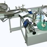 Автомат для нанесения самоклеющихся этикеток на круглую тару модель СК-010 К фото