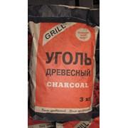 Древесный уголь 3 кг, РБ фото
