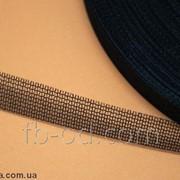 Лента сетка-бейка чер.10-50мм/У(боб-100м) 10-11 03327 фото