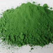 Пигмент для бетона зеленый фото