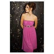 Вечернее платье с ремешком фото
