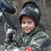 Детский пейнтбол фото