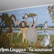 Рисуем на стенах и потолке (художественная роспись) фото