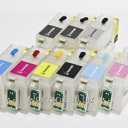 Картридж Ink ДЗК T1571-1579 for Eps R3000 without ink with chip фото