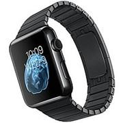 Блочный браслет Link Bracelet Black для часов Apple Watch 42mm фото