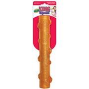 Kong игрушка для собак Squeezz Crackie хрустящая палочка большая 27 см фото