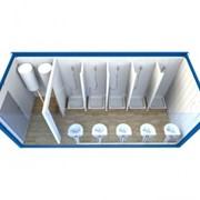 Блок-контейнер сантехнический фото