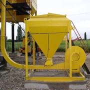 Агрегат целлюлозной добавки в асфальтосмеситель для ЩМА фото