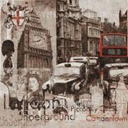 Салфетка для декупажа Лондон фото