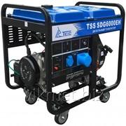 Дизель генератор TSS SDG 6000EH фото