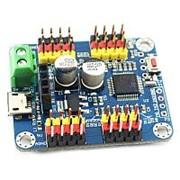 Серво контроллер Bluetooth+USB для Arduino (16 сервоприводов) фото