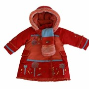 Пальто детское фото