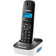 Стационарный телефон, беспроводная трубка (DECT) Panasonic KX-TG1611 черно-белый фото