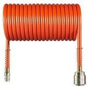 Шланг спиральный для компрессора 10м AERO №5773 фото