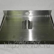 Лопата для снега алюминиевая 500х375 мм с планкой фото