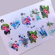 Anna Tkacheva, 3D-слайдер №387 «Цветы. Листья» фото