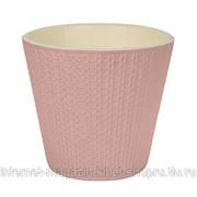 Горшок для цветов Velvet D230мм 5,0л светло-розовый Полипропилен фото