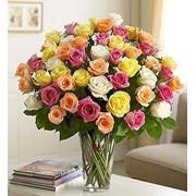 Букеты на заказ с доставкой, сердца из цветов, корзины с цветами. фото