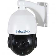 2.1 Мп уличная скоростная поворотная видеокамера 18X Zoom (4.7-84.6 мм) с ИК-подсветкой до 60м INT-PTZHD10-A02 фото