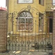 Кованый забор,кривой рог фото