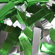 Метафан зеленый металлизированный односторонний фото