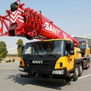 Предоставляем услуги автокрана SANY фото