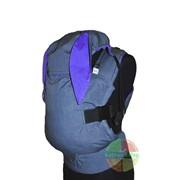 """Эрго-рюкзак - Зайчик с ушками (фиолет) - ТМ """"Citrus SLing"""" фото"""
