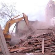 Демонтаж аварийных конструкций фото