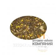Зеленый ароматизированный чай Имбирный апельсин фото