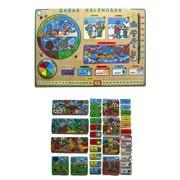 Серия игрушек Окружающий мир 33570 Календарь (Круглый год) латинский фото