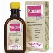 """Эликсир """"Женский"""" (масло льняное) 200 мл фото"""