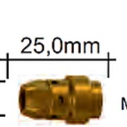 142.0239.5 Вставка для наконечника M11х1/M8/ 25,0 мм., для WT540 MS, Abicor Binzel фото