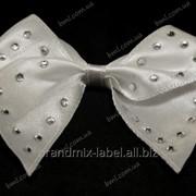 Бантик для свадебного платья мод 05/045 фото