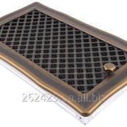 Решетка Deco 16x32 золотая патина з жалюзи фото