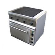 Плита электрическая 4-х конфорочная серии 700 ПЭ-704Ш с духовым шкафом фото