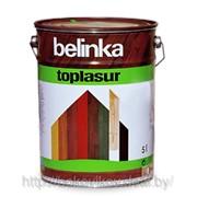 Белинка Топ Лазурь Belinka Toplasur - защитно-декоративное покрытие древесины 2,5 л фото