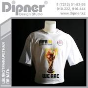 Футболки. Нанесение изображений и логотипов на футболки и рекламный текстиль. фото