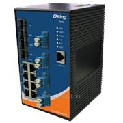 Коммутатор промышленный DIN-Rail Gigabit Ethernet IGS-9084GP-FB2 фото