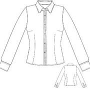 Блуза женская длинный рукав фото