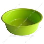 Таз полиэтиленовый не пищевой 3л цветной круглый №438405 фото